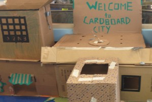 Family Workshop: Cardboard City