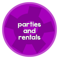 parties and rentals with cog