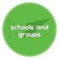 schools and groups with plane