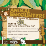 Animal Encounters at the PlayHouse: Reptiles