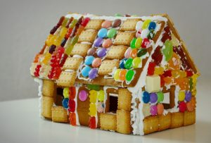 Real Tools Workshop: Gingerbread Houses