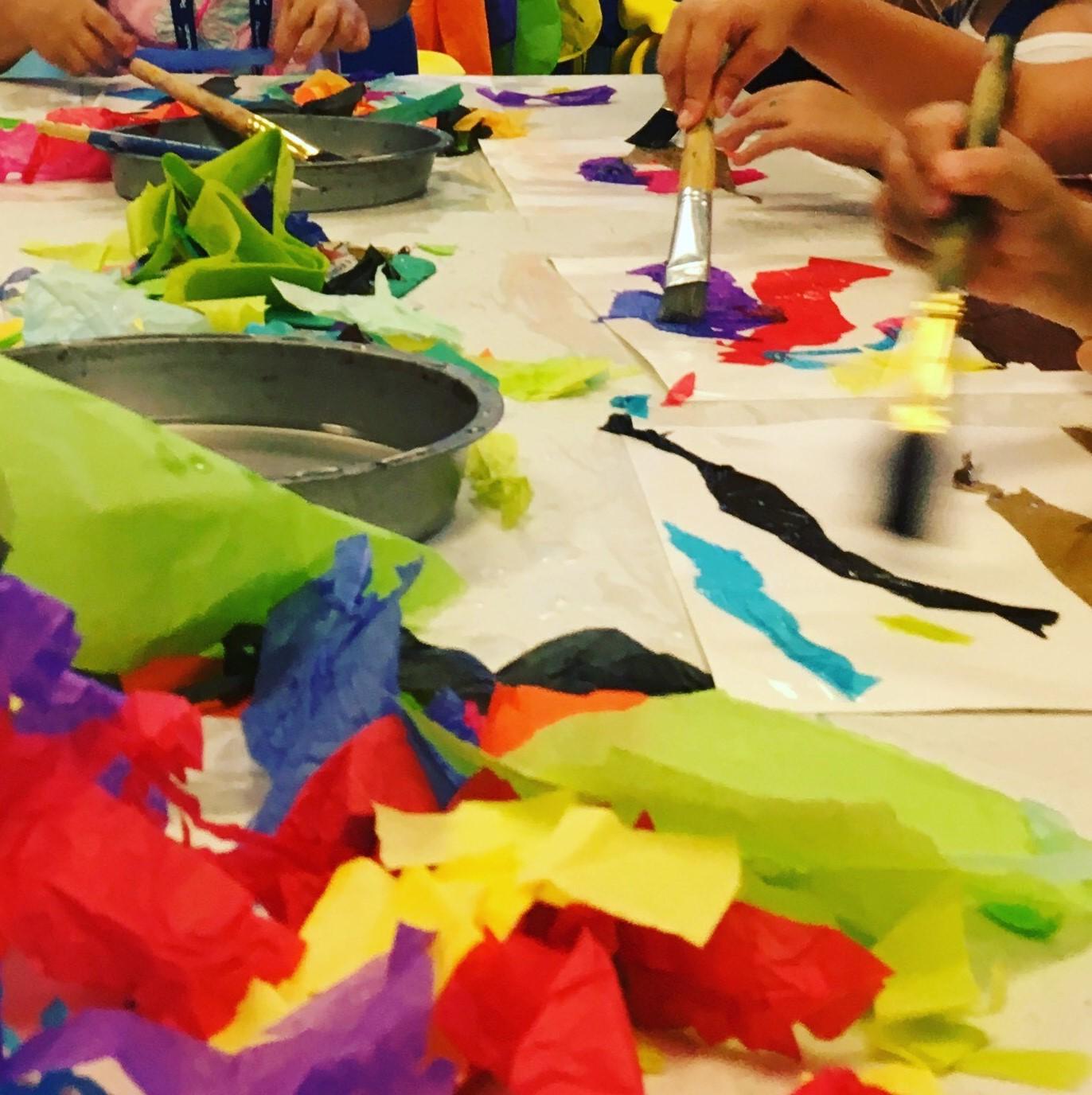 Summer Camp: Little Artists @ Play (Half Day)