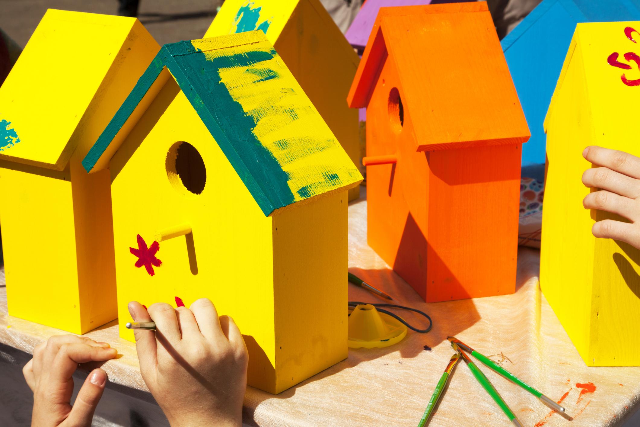Maker Workshop: Bird House Basics