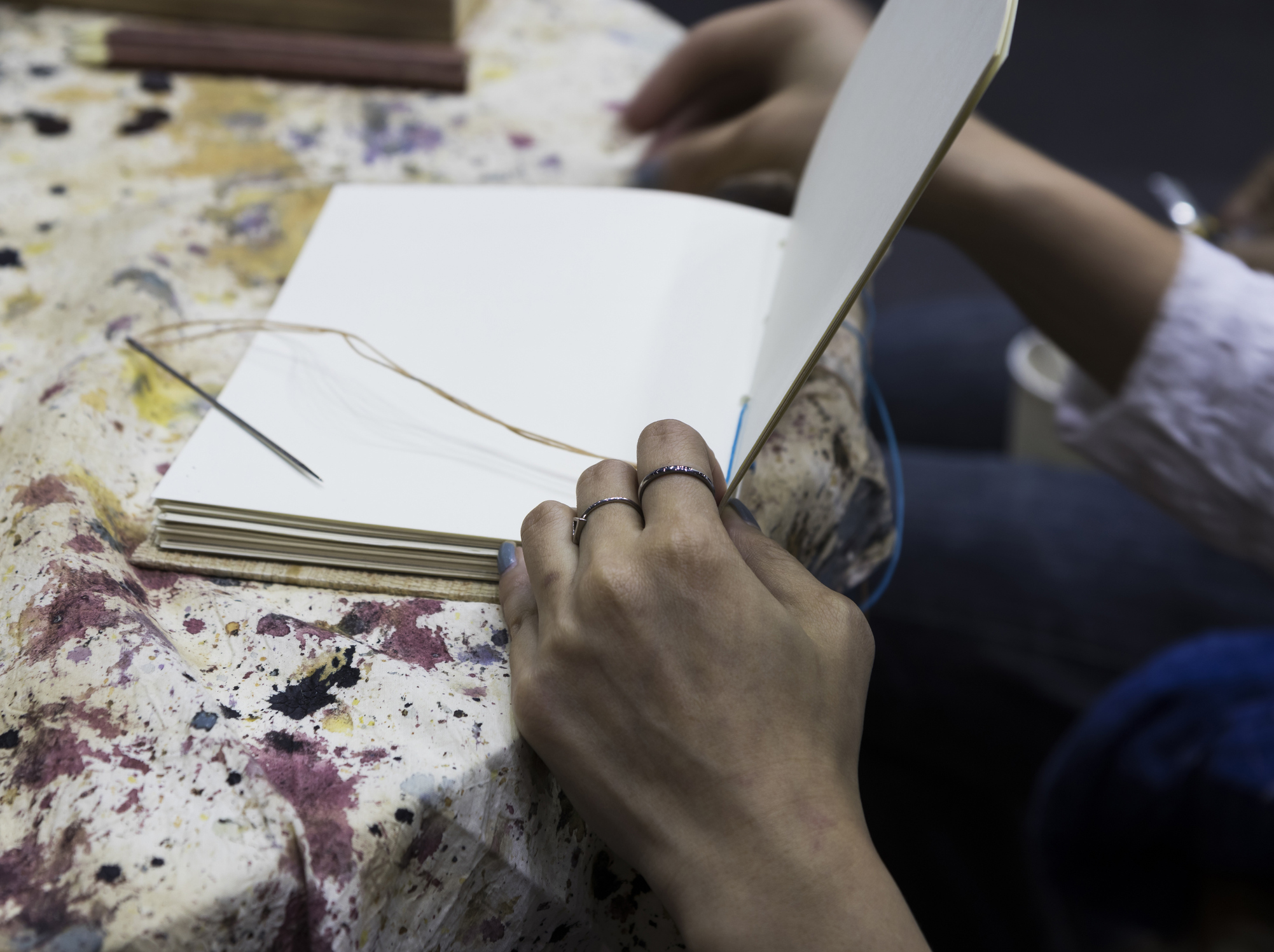 Drop-In Maker Program: Book-Making