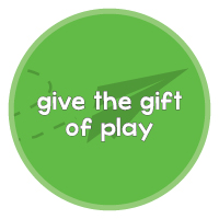 give the gift of play