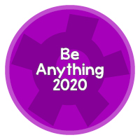 Be Anything 2020 Button